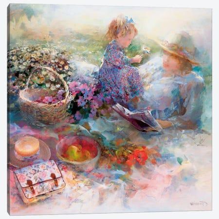 Golden Moment Canvas Print #HAE150} by Willem Haenraets Canvas Art