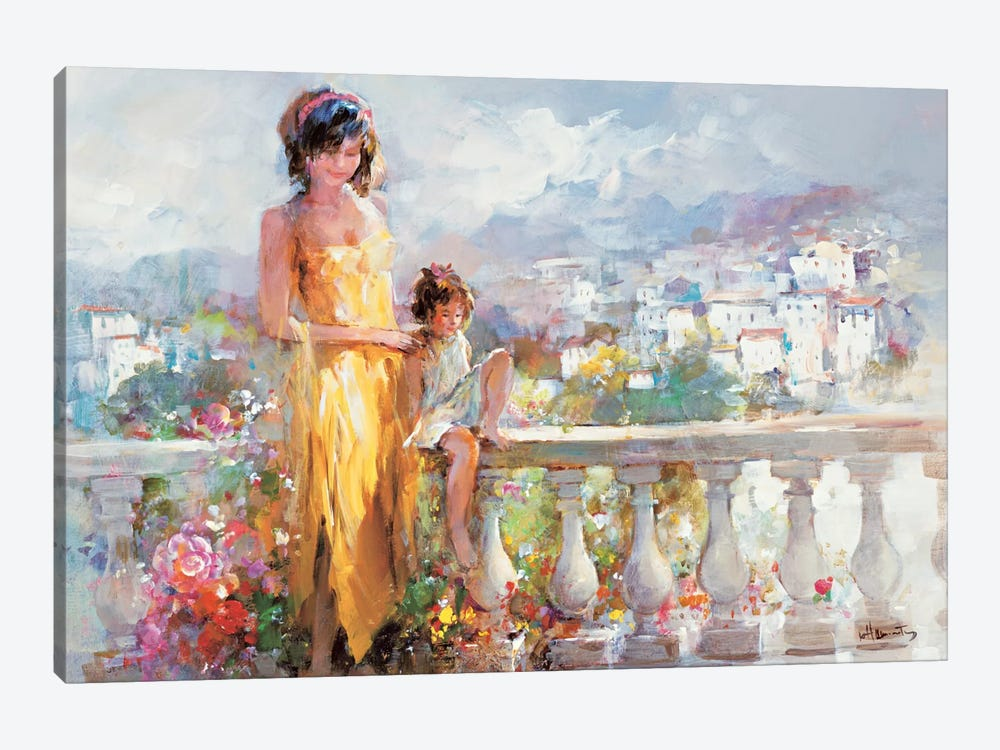 Happy Together by Willem Haenraets 1-piece Canvas Wall Art