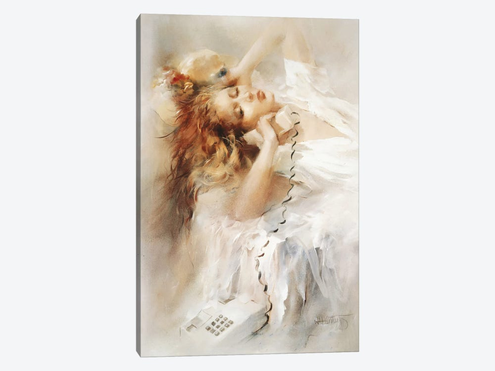 Hopeful by Willem Haenraets 1-piece Canvas Print