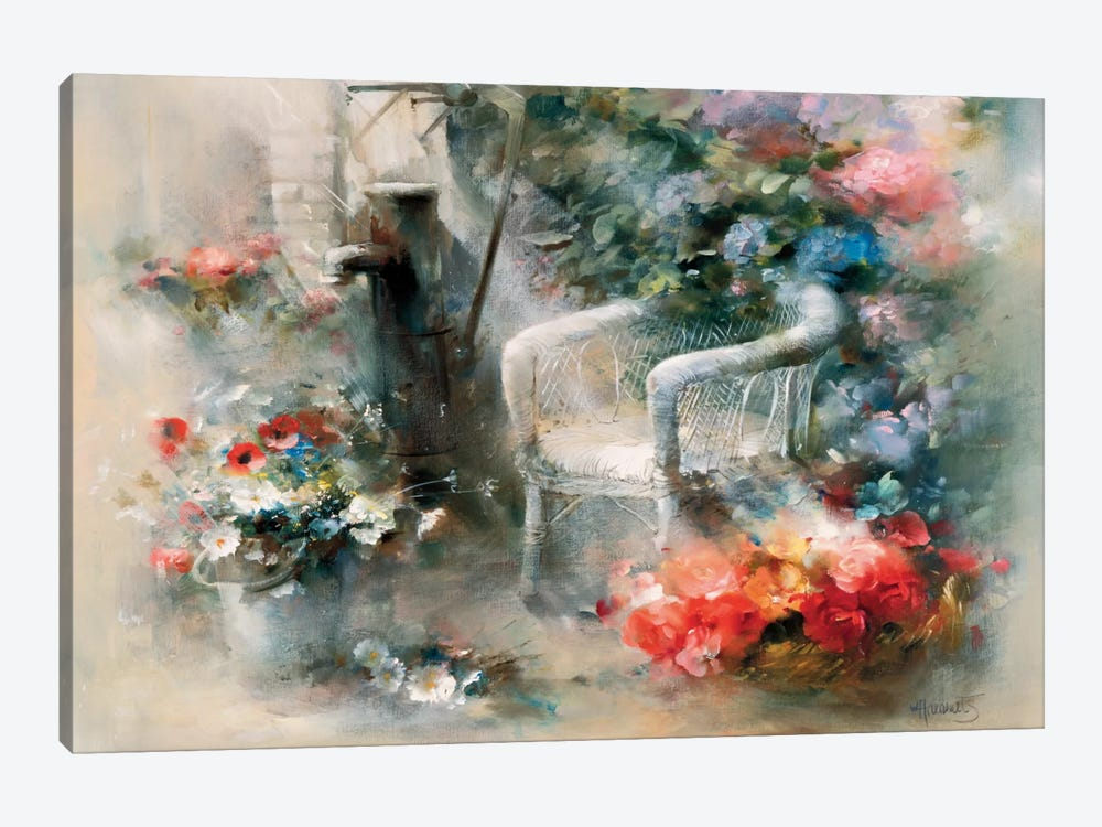 Idyllic Place by Willem Haenraets 1-piece Canvas Print