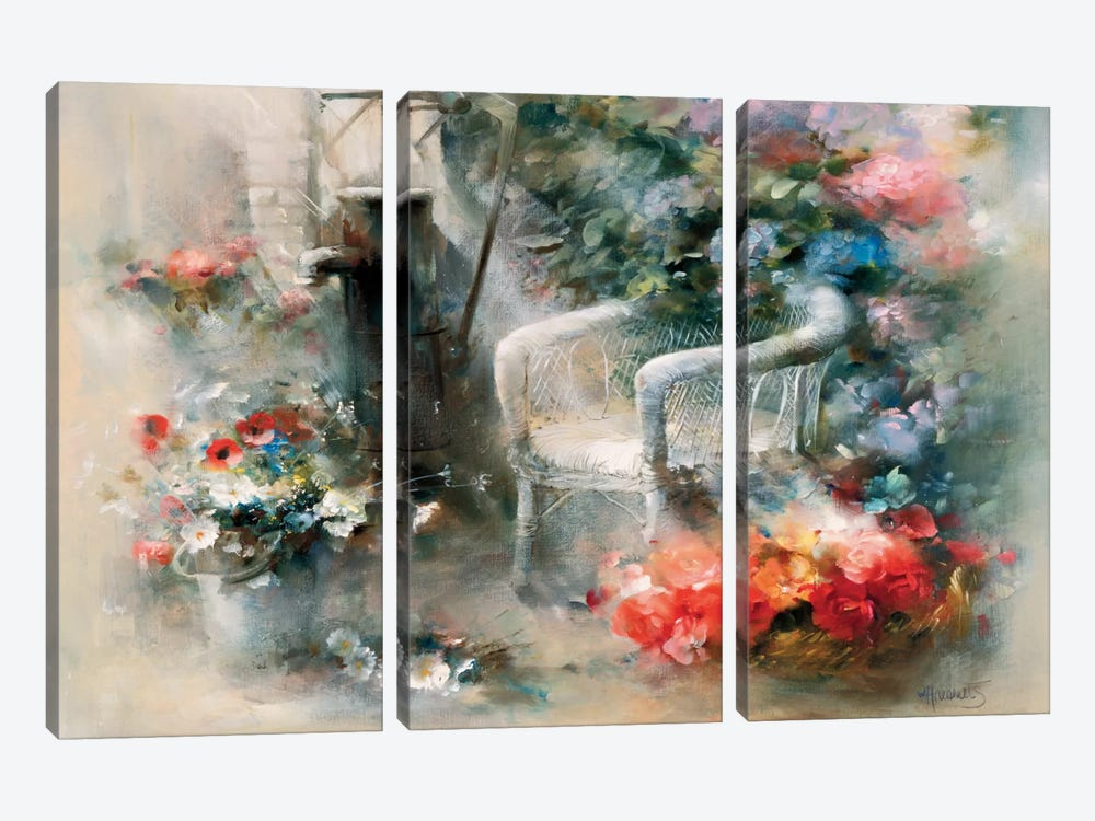 Idyllic Place by Willem Haenraets 3-piece Art Print