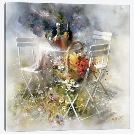 Invitation Canvas Print #HAE163} by Willem Haenraets Canvas Art Print