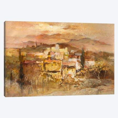 Italian Village I Canvas Print #HAE164} by Willem Haenraets Canvas Artwork