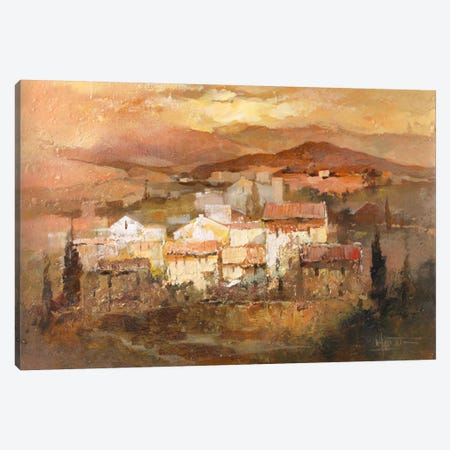 Italian Village II Canvas Print #HAE165} by Willem Haenraets Canvas Artwork