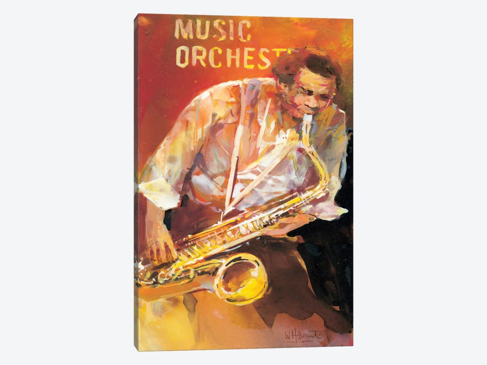 Jazzman II by Willem Haenraets 1-piece Art Print