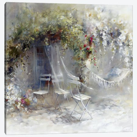 Just Peace Canvas Print #HAE170} by Willem Haenraets Canvas Wall Art