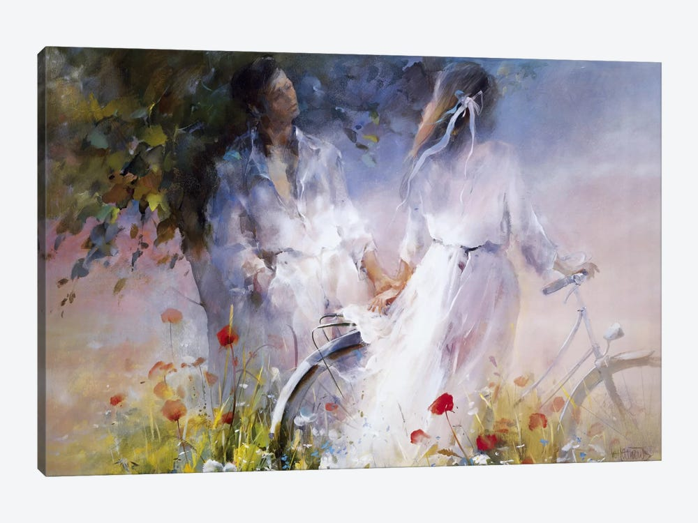 Just The Two Of Us by Willem Haenraets 1-piece Canvas Art