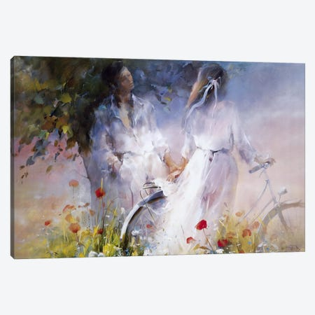 Just The Two Of Us Canvas Print #HAE171} by Willem Haenraets Canvas Art
