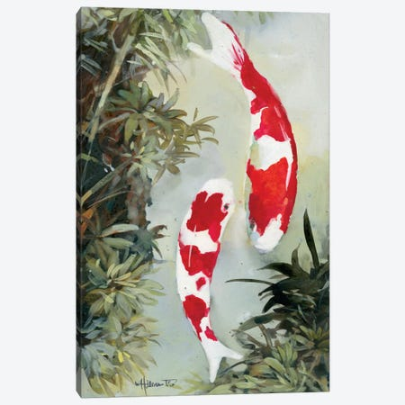 Koi II Canvas Print #HAE173} by Willem Haenraets Canvas Art