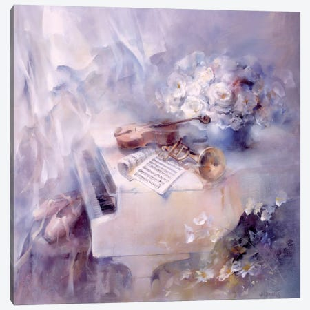 Like A Song Canvas Print #HAE178} by Willem Haenraets Canvas Wall Art