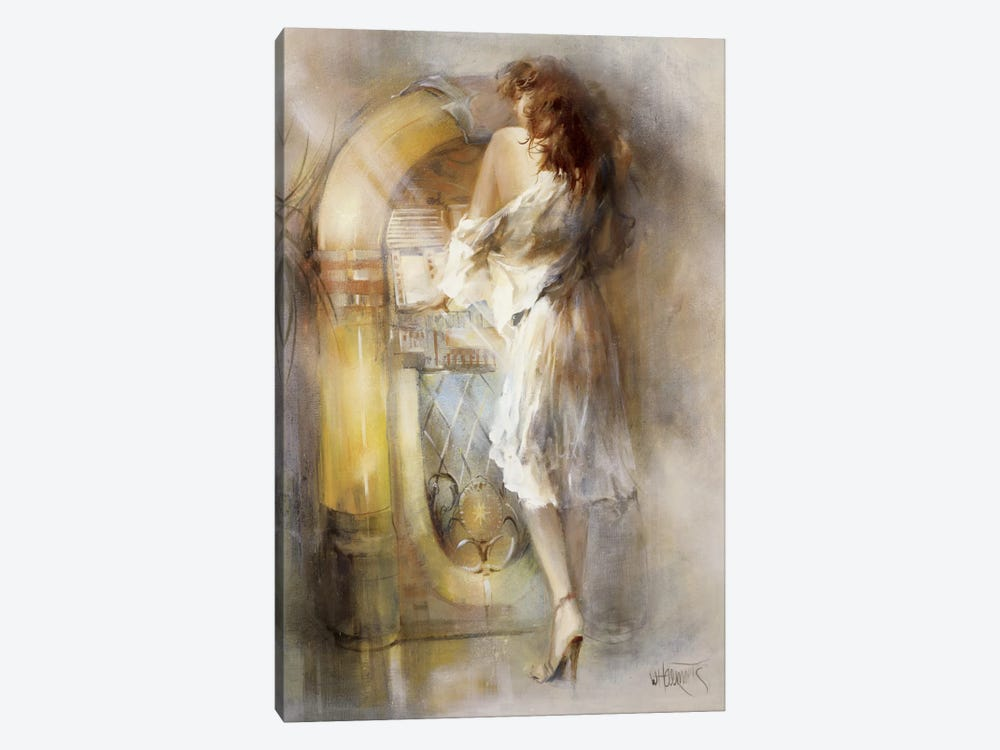Lost In Time by Willem Haenraets 1-piece Canvas Art