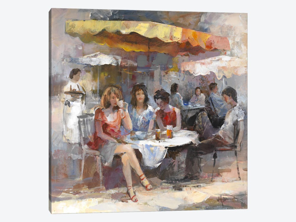 Market II by Willem Haenraets 1-piece Canvas Wall Art