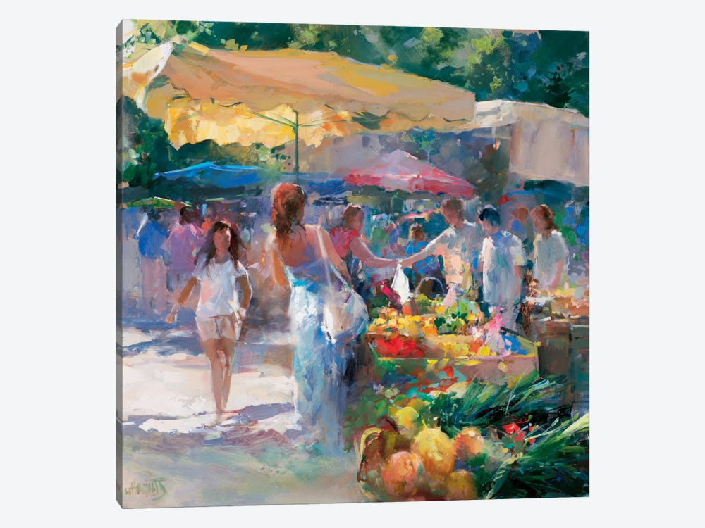 Market Tuni by Willem Haenraets 1-piece Canvas Print