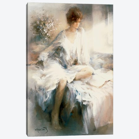 Meditation Canvas Print #HAE184} by Willem Haenraets Canvas Art
