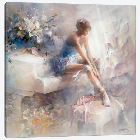 Melodies Canvas Print #HAE185} by Willem Haenraets Canvas Art