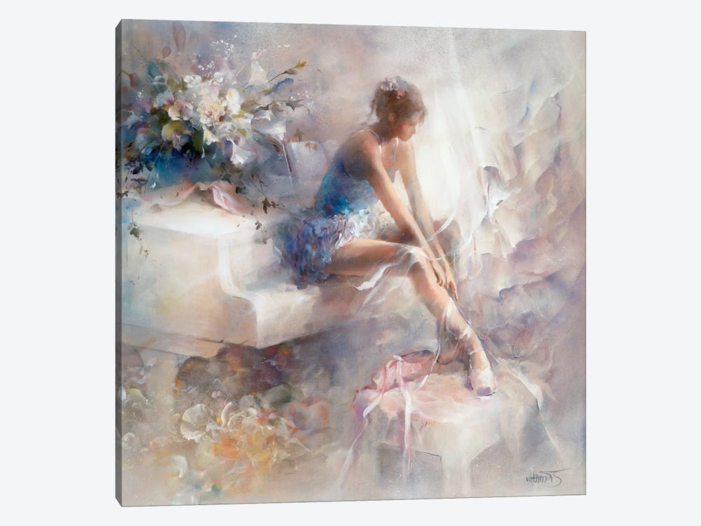 Melodies by Willem Haenraets 1-piece Canvas Art Print