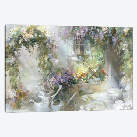 Morning Dawn Canvas Print #HAE186} by Willem Haenraets Canvas Artwork