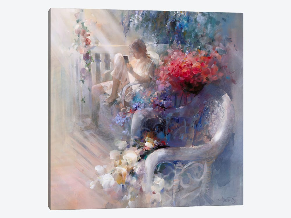 Morning Silence by Willem Haenraets 1-piece Art Print
