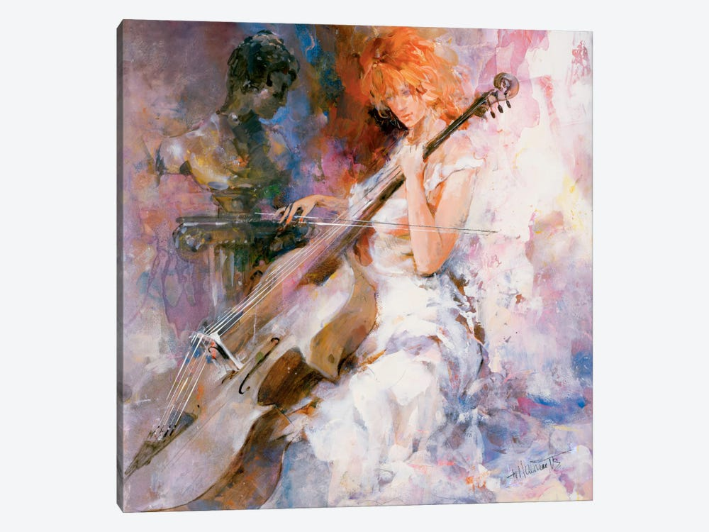 Musical Moments by Willem Haenraets 1-piece Canvas Artwork