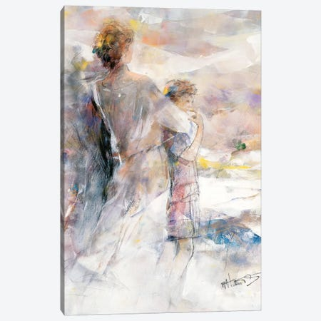 My Boy Canvas Print #HAE189} by Willem Haenraets Art Print