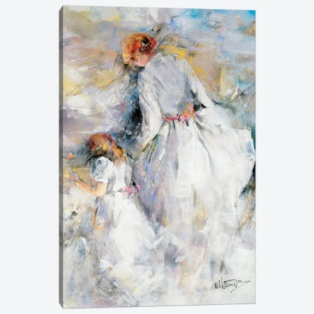 My Girl Canvas Print #HAE190} by Willem Haenraets Canvas Artwork
