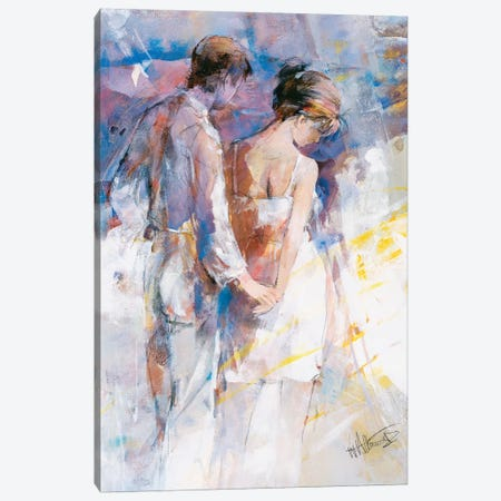 My Love I Canvas Print #HAE191} by Willem Haenraets Canvas Wall Art