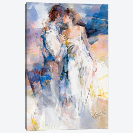 My Love II Canvas Print #HAE192} by Willem Haenraets Canvas Art