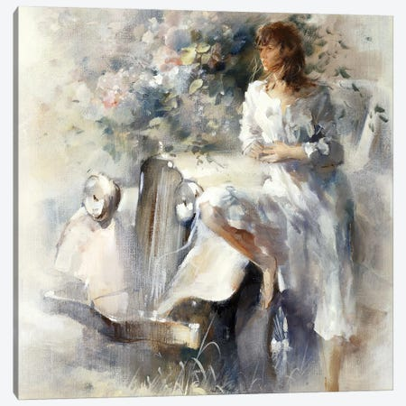 Nostalgia Canvas Print #HAE194} by Willem Haenraets Art Print