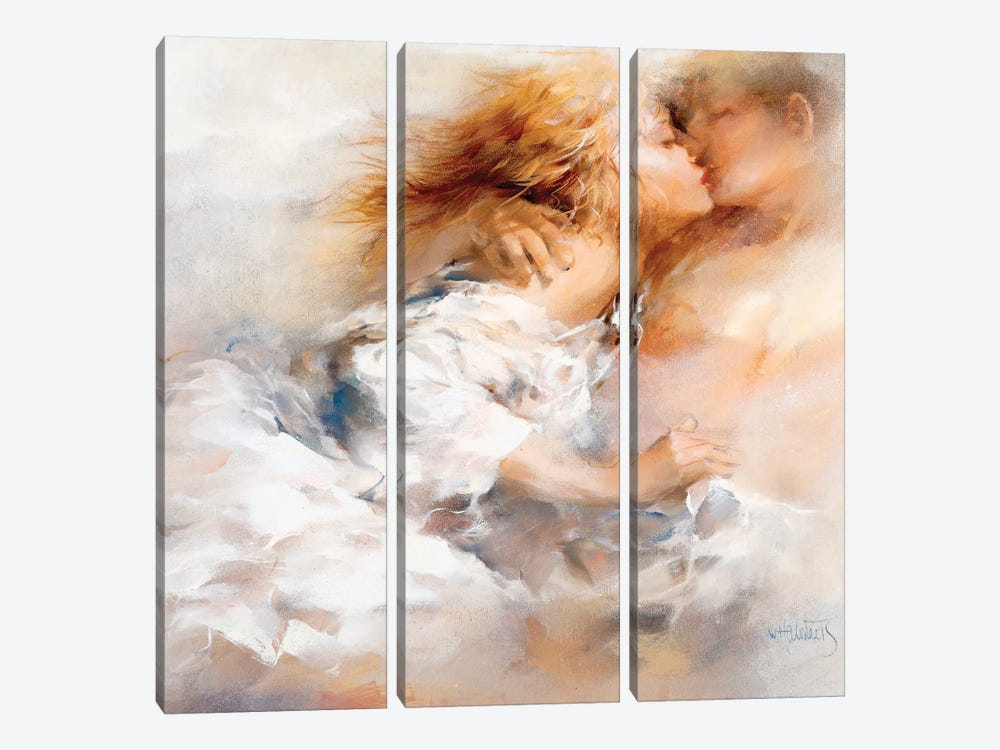 Passionate by Willem Haenraets 3-piece Canvas Art