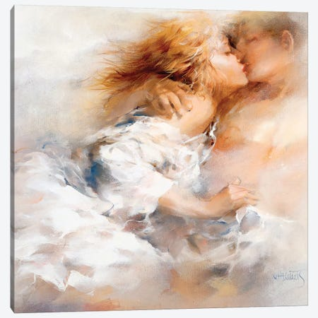 Passionate Canvas Print #HAE197} by Willem Haenraets Canvas Print