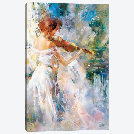 Peace In Playing Canvas Print #HAE199} by Willem Haenraets Canvas Artwork