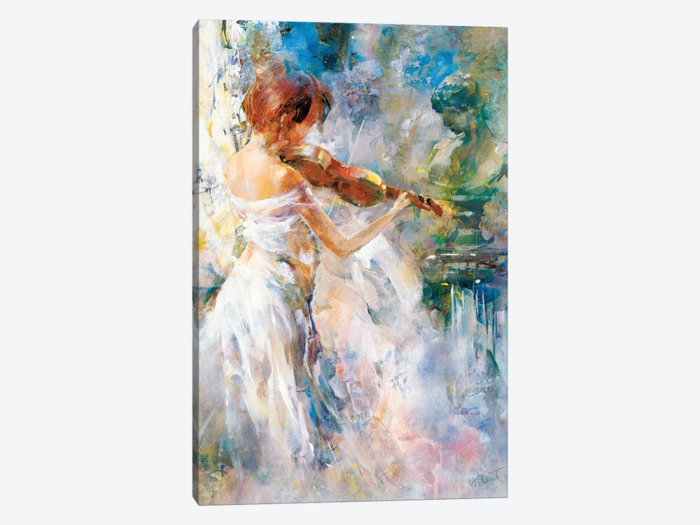 Peace In Playing by Willem Haenraets 1-piece Canvas Wall Art