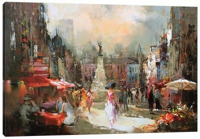 Café Rouge III Canvas Art Print