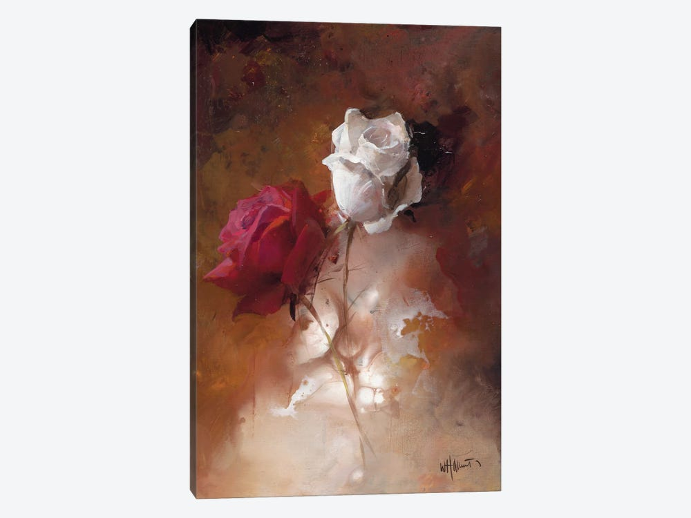 A Couple I by Willem Haenraets 1-piece Canvas Art Print