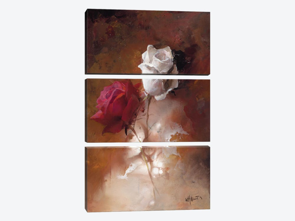 A Couple I by Willem Haenraets 3-piece Canvas Print