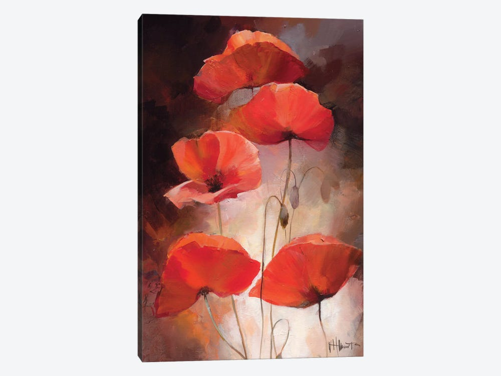 Poppy Bouquet II by Willem Haenraets 1-piece Art Print