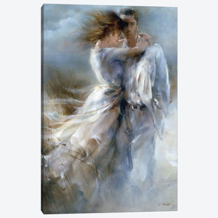 Private Announcement Canvas Print #HAE204} by Willem Haenraets Canvas Art Print