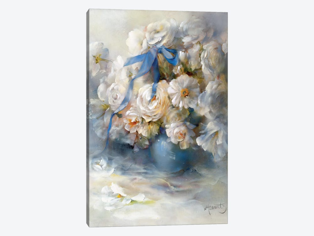 Ranunculus by Willem Haenraets 1-piece Canvas Art Print