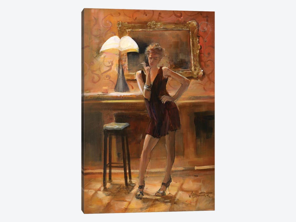 Relaxing At Home by Willem Haenraets 1-piece Art Print