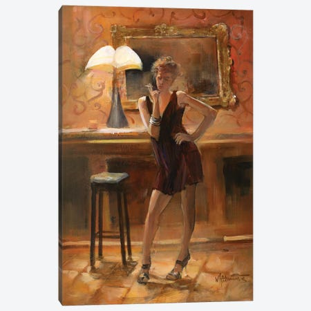 Relaxing At Home Canvas Print #HAE207} by Willem Haenraets Canvas Print
