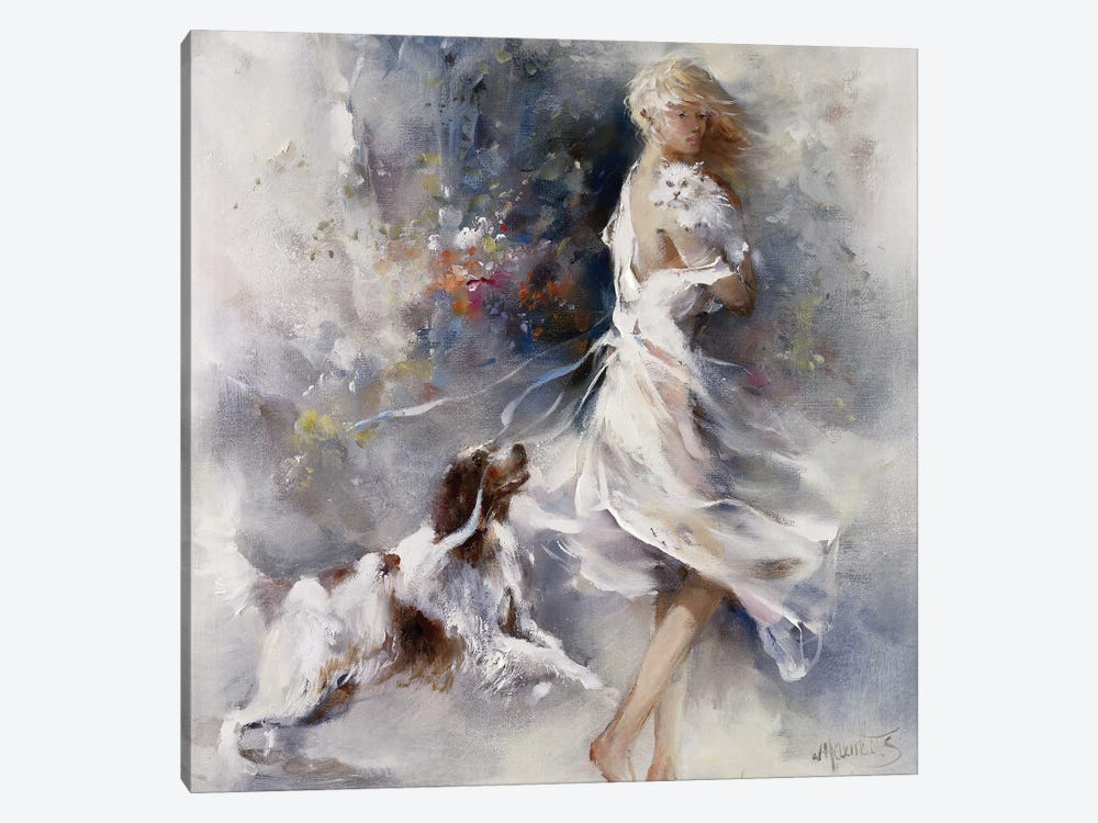 Rivalry by Willem Haenraets 1-piece Canvas Art Print