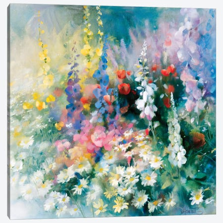 Roadside Canvas Print #HAE211} by Willem Haenraets Canvas Art Print