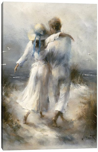 Romantic Canvas Art Print