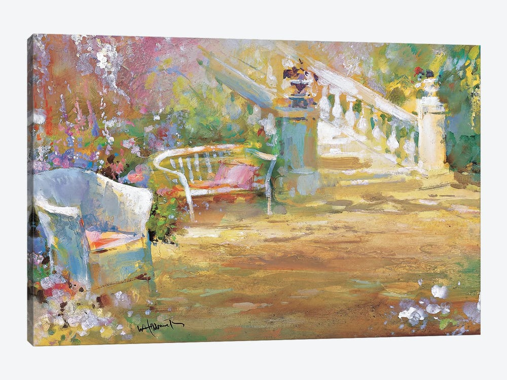 Romantic Court by Willem Haenraets 1-piece Canvas Art