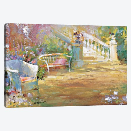 Romantic Court Canvas Print #HAE213} by Willem Haenraets Canvas Art Print