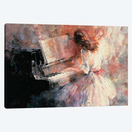 Romantic Rhythm Canvas Print #HAE215} by Willem Haenraets Canvas Artwork
