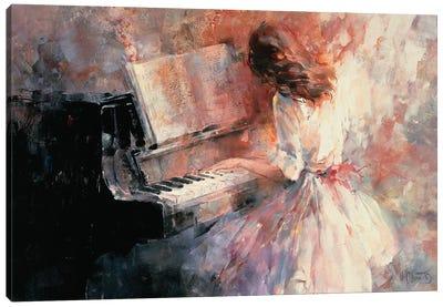 Romantic Rhythm Canvas Art Print