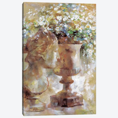 Romantic Sculpture Canvas Print #HAE216} by Willem Haenraets Canvas Art