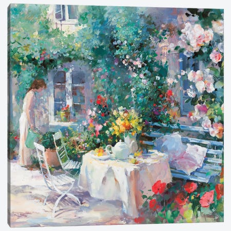Romantico Dos Canvas Print #HAE217} by Willem Haenraets Canvas Artwork