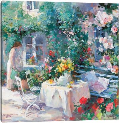 Romantico Dos Canvas Art Print